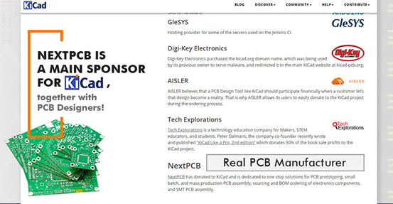 Become the main sponsor for KiCad.png