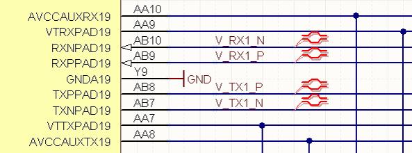 Correct differential pair routing method in Altium 9