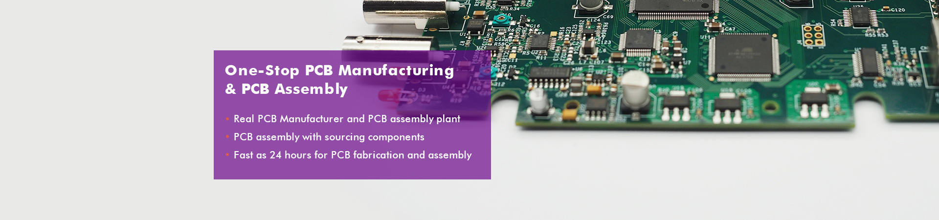 One-Stop PCB Manufacturing&Assembly
