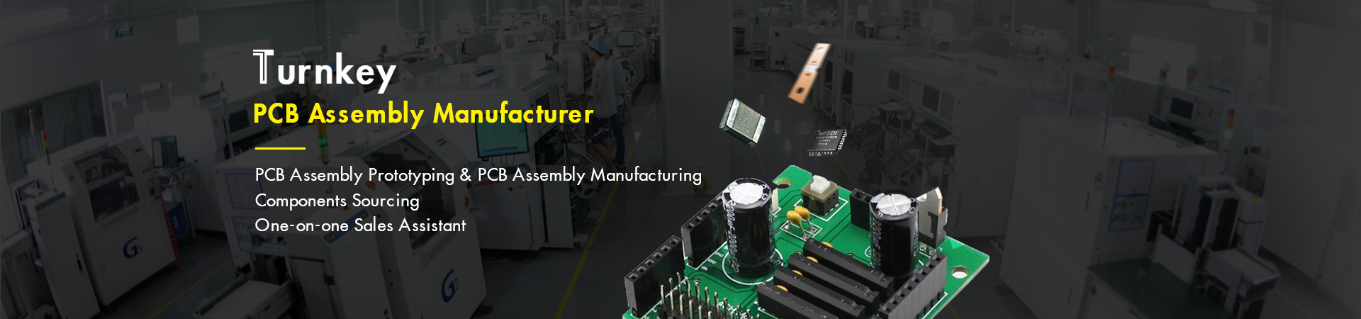 Turnkey PCB Assembly Manufacturer| PCB Mass production| Fast lead time