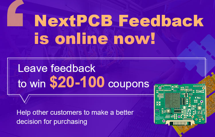 Leave feedback to win $20-100 coupons